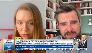 Po występie w TVN24 zalała ją fala hejtu. Stanęła w obronie nieczytających Polaków