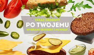 Sam skomponujesz hamburgera. McDonald's pozwala klientom wybierać dodatki