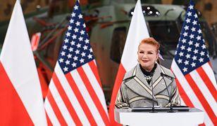 """Jesteście """"the best"""" i """"impressive"""", mówi ambasador Mosbacher. Jesteście """"killers"""", dodaje minister Błaszczak"""