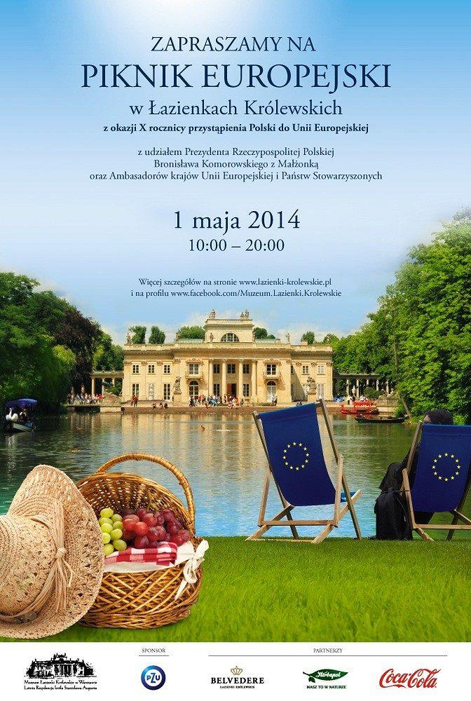 Za darmo: Piknik Europejski w Łazienkach Królewskich