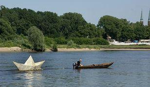 Papierowa łódeczka wróciła na Wisłę!