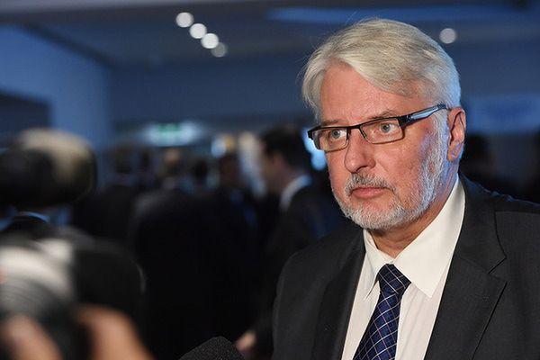 Waszczykowski o raporcie Komisji Weneckiej: nie dostaliśmy obiektywnej oceny