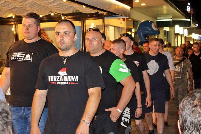 Patrol ONR i Forza Nuova we włoskim Rimini
