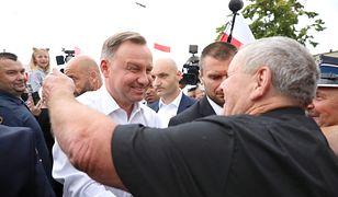 Koronawirus na wiecu Andrzeja Dudy. Pilny komunikat sanepidu