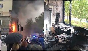 Warszawa. Ogromny pożar, spore zniszczenia w redakcji. Trwa zbiórka na pomoc Press
