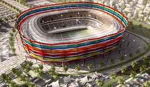 Wizualizacja stadionu Al-Gharafa w katarskim mieście Ar-Rajjan.