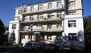 """Ośrodek wypoczynkowy """"Palace"""" przy ul. Chałubińskiego w Zakopanem."""