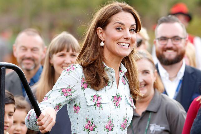 Kate Middleton na otwarciu ogrodu