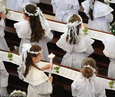 W Warszawie około 70 proc. dzieci komunijnych bierze udział w rocznicy