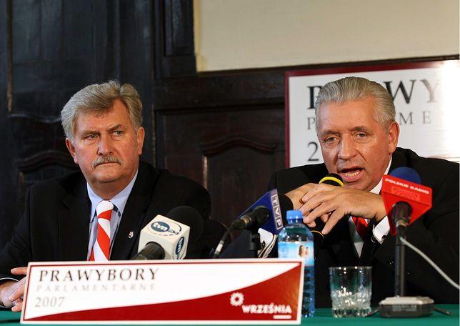 Andrzej Aumiller i Andrzej Lepper