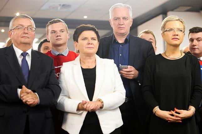 Beata Szydło uczestniczyła w wieczorze wyborczym Małgorzaty Wassermann