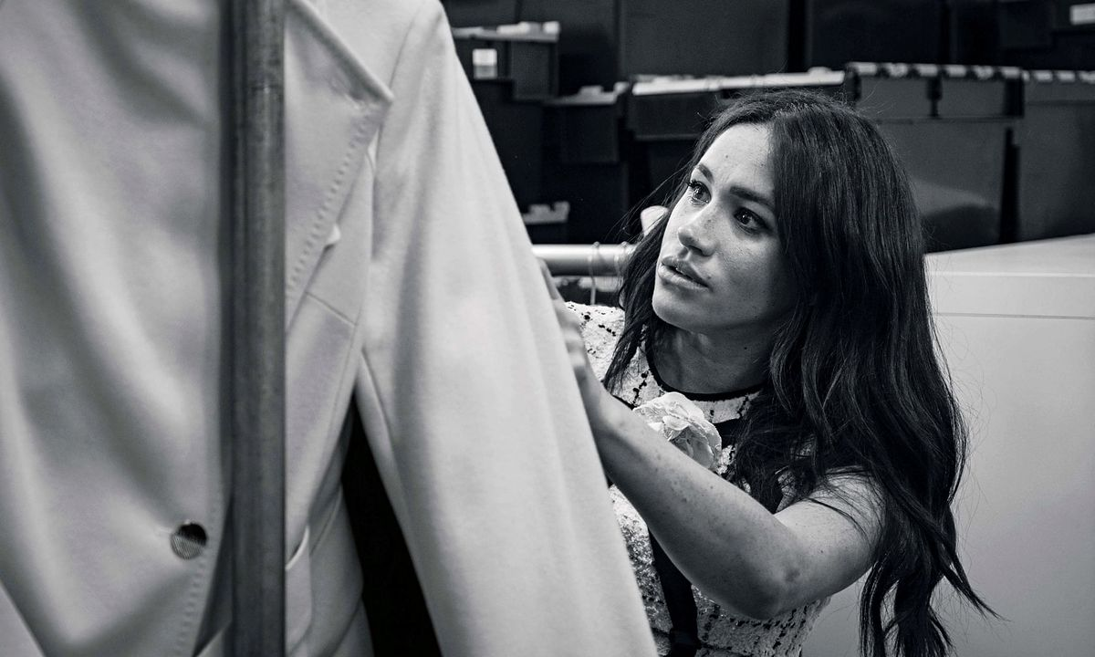 """Meghan Markle napisała osobisty list do czytelniczek brytyjskiego """"Vogue'a"""""""