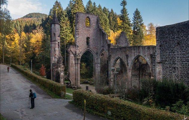 Ruiny klasztoru Wszystkich Świętych Allerheiligen w Schwarzwaldzie, Niemcy