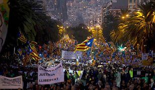 Demonstracja w Barcelonie
