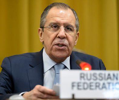 Szef rosyjskiej dyplomacji, Sergiej Ławrow.