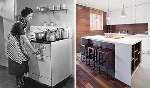 Lodówkę z zamrażarką wynaleziono dopiero w 1939 r., a pierwszy model kuchenki mikrofalowej do użytku domowego pojawił się dopiero  w 1967 r. w USA.