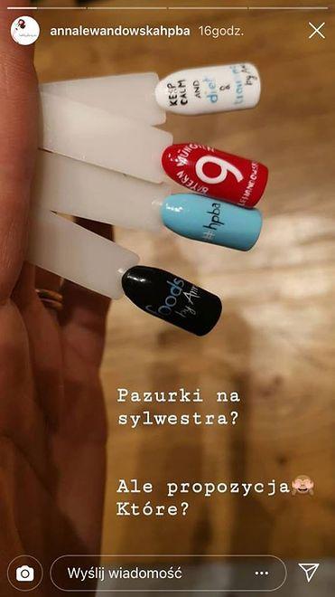 Anna Lewandowska już szykuje się do imprezy sylwestrowej