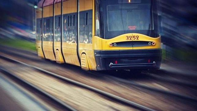 Rondo Radosława: wykoleił się tramwaj