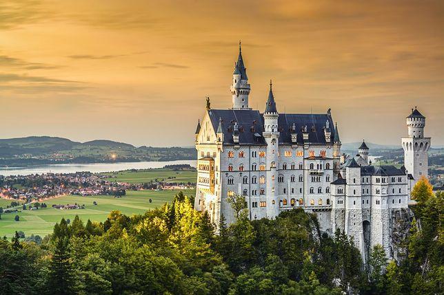 Bajkowe zamki - Neuschwanstein, Niemcy