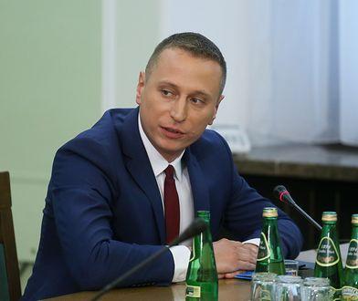 Polityk PO Krzysztof Brejza uważa, że TVP zmanipulowało jego wypowiedź
