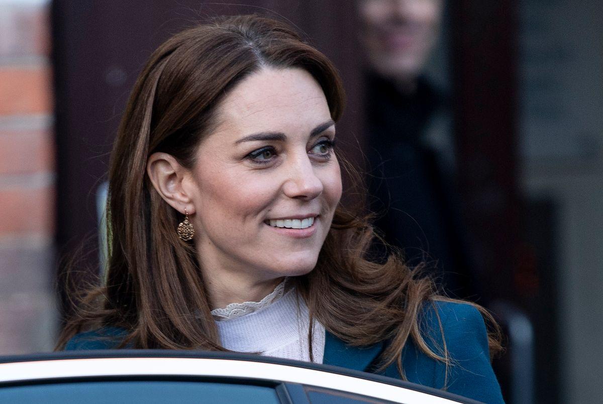 Księżna Kate chuda jak przecinek na balu Guinnessa w Irlandii