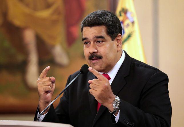 Nicolas Maduro oskarżył o zamach prezydenta Kolumbii