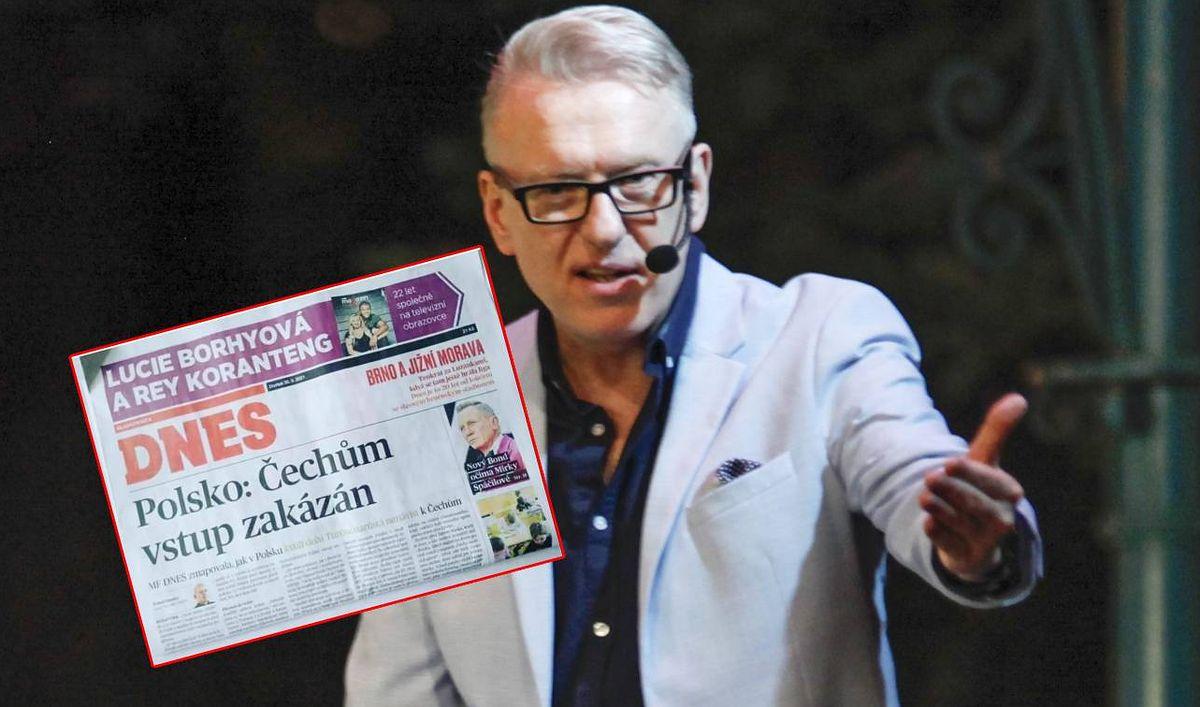 Mariusz Szczygieł pokazał, jak w czeskiej prasie opisano antyczeskie nastroje w Bogatyni