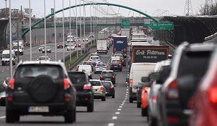 Warszawa. Spore utrudnienia dla kierowców (zdjęcie ilustracyjne)