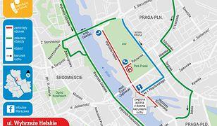Warszawa. Podpowiadamy, jakie będą w najbliższych dniach zmiany w ruchu drogowym