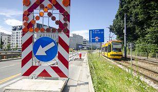Warszawa. Trwa remont przy ulicy Wolskiej (fot. Zarząd Dróg Miejskich)