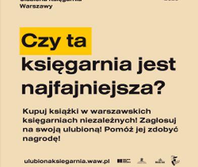 Warszawa. Trwa konkurs na najfajniejszą księgarnię