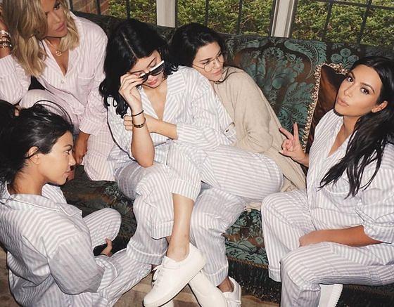 Kim Kardashian i jej siostry: Khloe, Kourtney, Kylie i Kendall