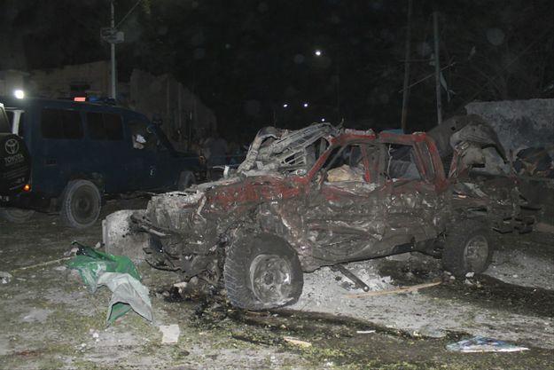 Somalia, miejsce wybuchu