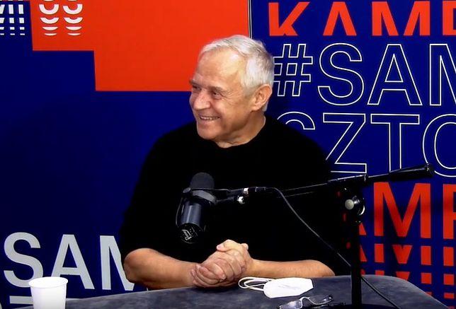 Marek Kondrat w studiu Radia Kampus
