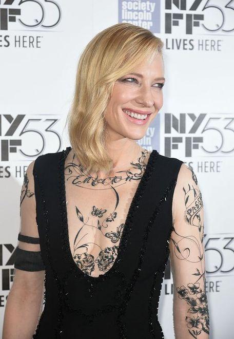 Cate Blanchett w oryginalnej stylizacji