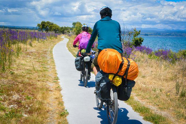 Dostępnych jest wiele zaskakujących tras rowerowych