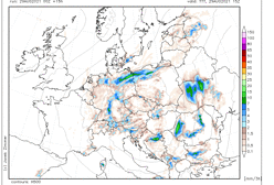Pogoda na niedzielę. Więcej deszczu i chmur nad Polską. Możliwe burze