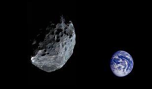 Ogromna asteroida zbliża się do Ziemi