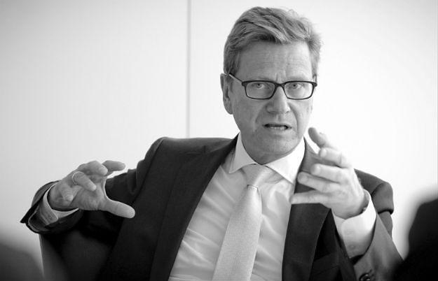 Zmarł były minister spraw zagranicznych Niemiec Guido Westerwelle