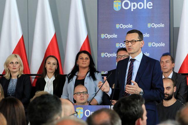 Morawiecki z wizytą w Opolu