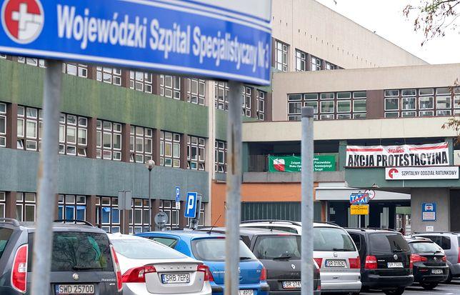 Pracownicy Wojewódzkiego Szpitala Specjalistycznego w Rybniku rozważają strajk, aby dostać podwyżki płac