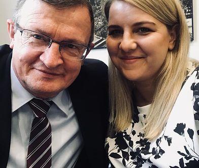 Aleksandra Szczudło i Tadeusz Cymański