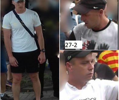 Białystok. Po Marszu Równości policja publikuje wizerunki trzech poszukiwanych mężczyzn