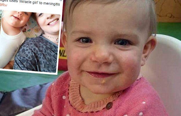 Zrozpaczona matka walczy z zapaleniem opon mózgowych. Choroba zabrała jej córkę wyczekiwaną po 16 poronieniach