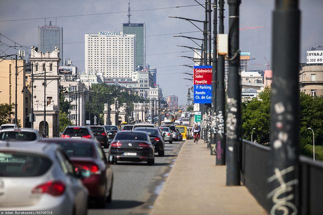 Warszawa. Jest zgoda na fotoradary na moście Poniatowskiego
