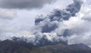 Japonia. Wybuchł jeden z największych wulkanów na świecie