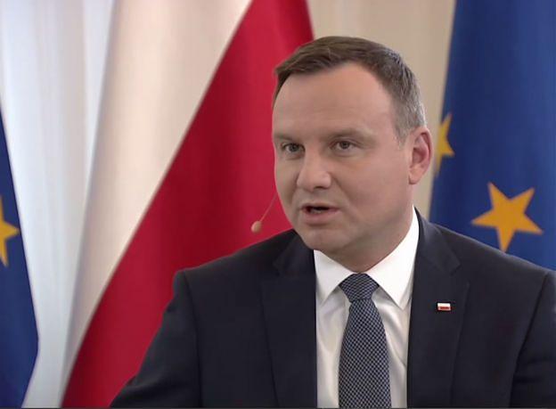 Prezydent Andrzej Duda: z obietnic proszę mnie rozliczać za 5 lat