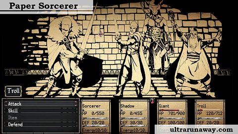 Podoba mi się jak twórcy Paper Sorcerer podchodzą do graczy