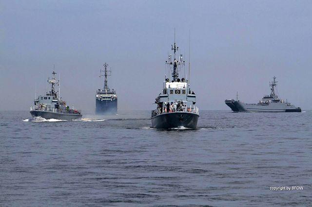 Zatoka Pomorska zaroiła się od okrętów - zdjęcia