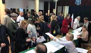 Wybory samorządowe 2018. Frekwencja o godz. 17 wyniosła 41,65 proc.